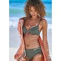 LASCANA Bügel-Bikini-Top »Italy«, seitlich zu raffen