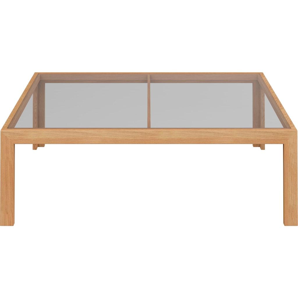 GALLERY M Couchtisch »Arrive 7710«, Tischplatte in Parsolglas