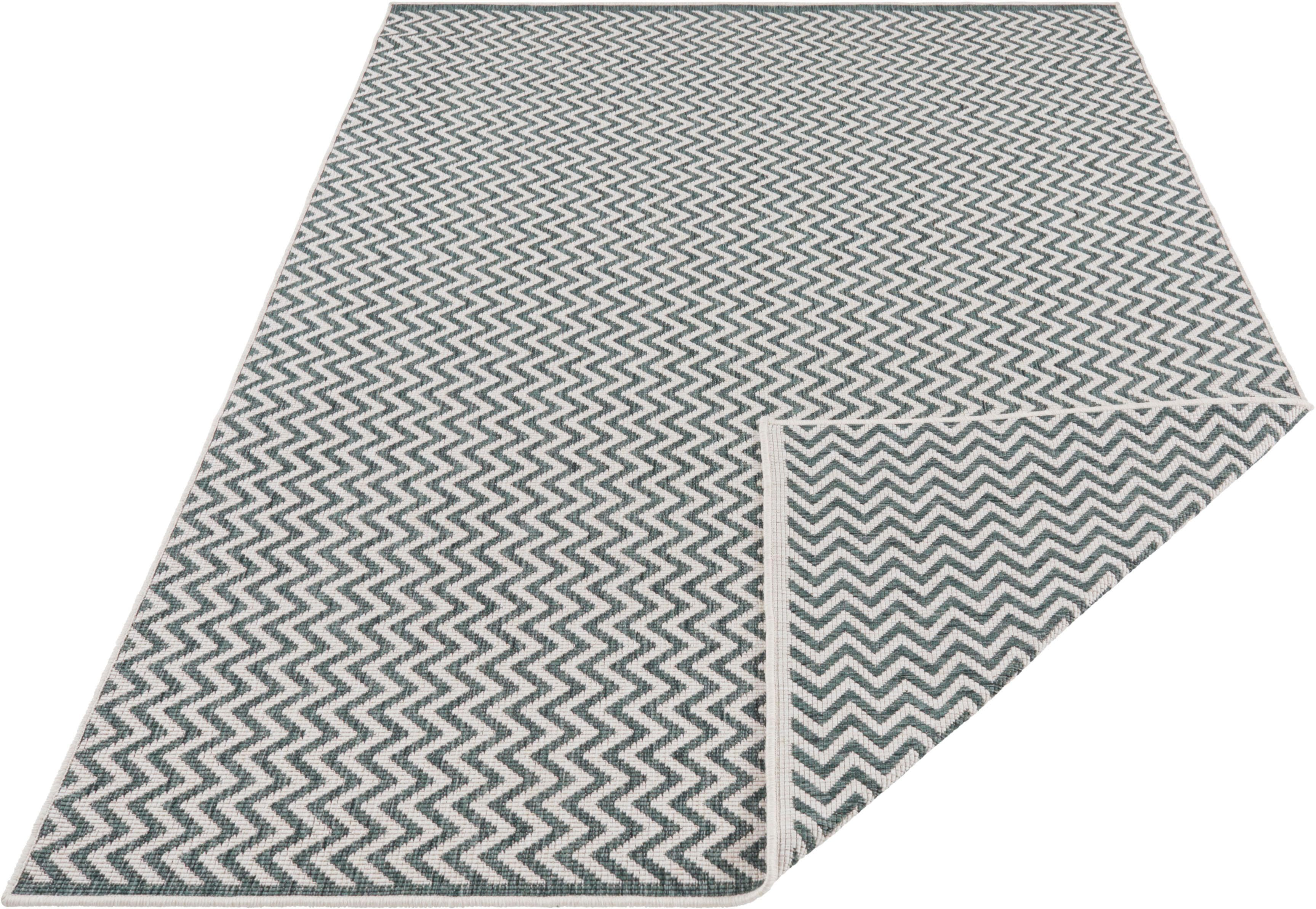 Teppich Ivy 2 freundin Home Collection rechteckig Höhe 5 mm maschinell gewebt