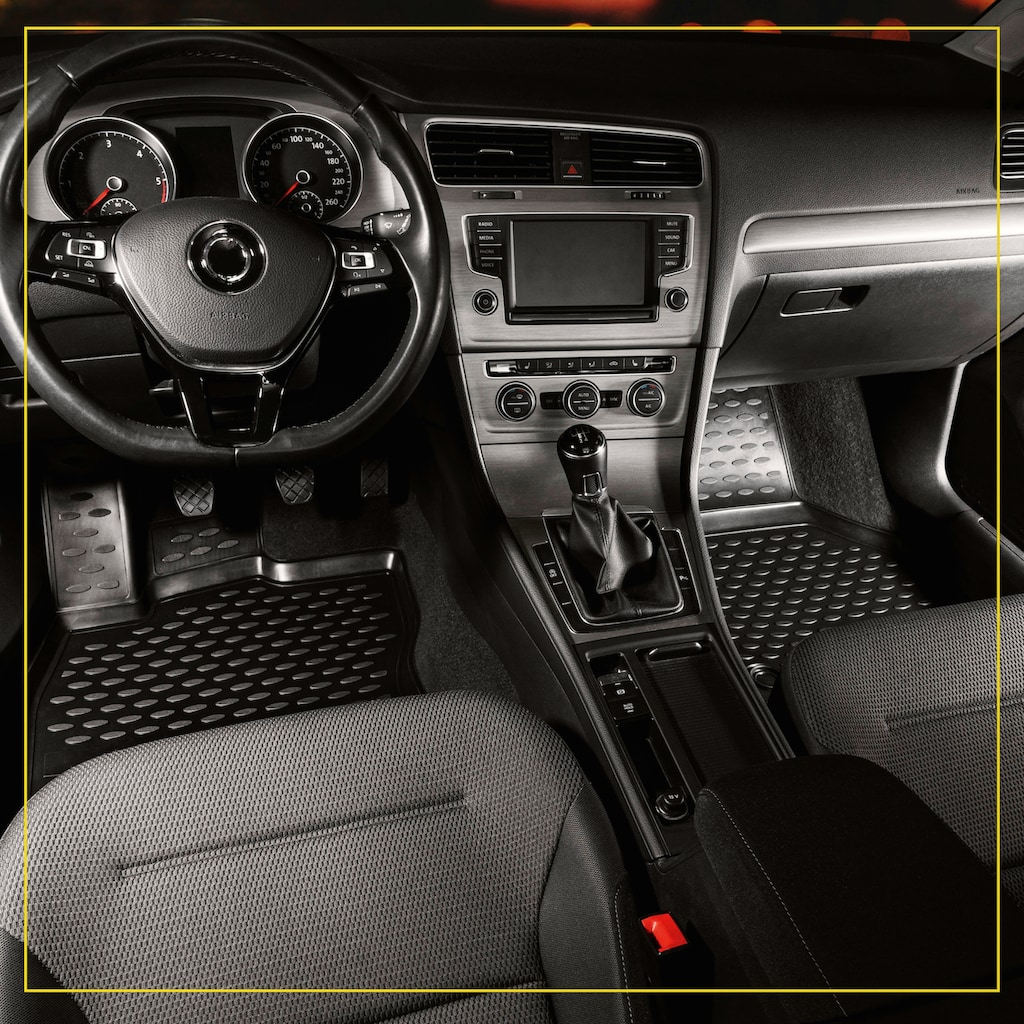 WALSER Passform-Fußmatten »XTR«, (4 St.), für Toyota RAV 4 V Bj 12/2018 - Heute