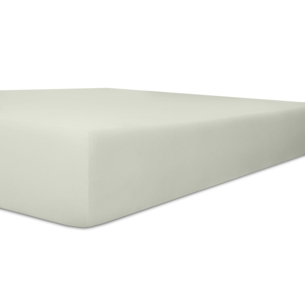 Kneer Spannbettlaken »Exclusive-Stretch«, optimaler Sitz
