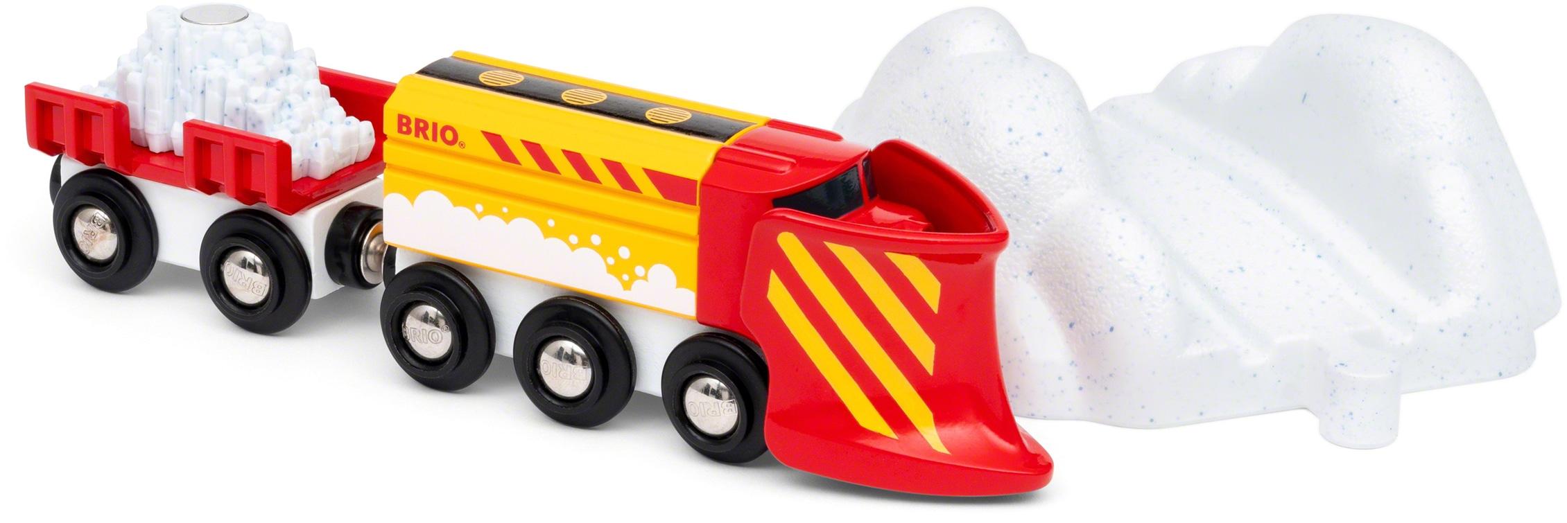 BRIO Spielzeug-Zug Schneeräumzug rot Kinder Kindereisenbahnen Autos, Eisenbahn Modellbau