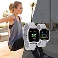 X-Watch Großartiger Sporttracker und Home Workout »IVE XW FIT - URBAN SLVER«