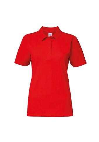 Gildan Poloshirt »Softstyle Damen Kurzarm Doppel Pique Polo Shirt« kaufen