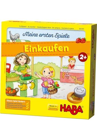 Haba Spiel »Meine ersten Spiele - Einkaufen«, Made in Germany kaufen
