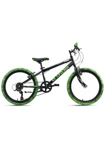 KS Cycling Jugendfahrrad »Crusher«, 6 Gang, Shimano, Tourney Schaltwerk, Kettenschaltung kaufen