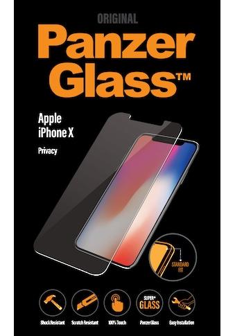 PanzerGlass Schutzglas »PRIVACY für iPhone X« kaufen