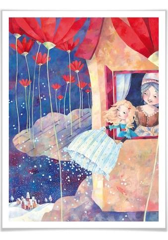 Wall-Art Poster »Märchen Wandbilder Frau Holle«, Geschichten & Märchen, (1 St.),... kaufen