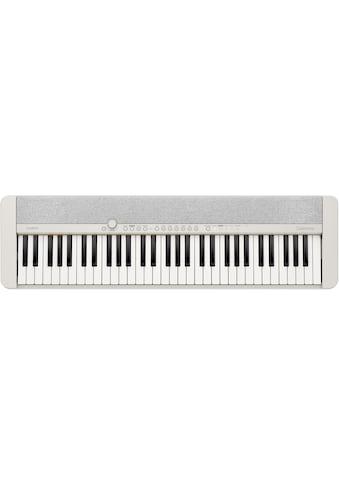 CASIO Keyboard »Piano-Keyboard, CT-S1WESP«, ideal für Piano-Einsteiger und... kaufen