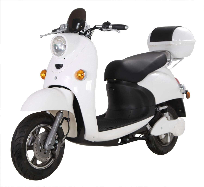 ELEKTROROLLER FUTURA E-Motorroller ONE Lithium, 1600 Watt, 45 km/h weiß Elektromobile Elektroroller Motorroller Mofas Roller