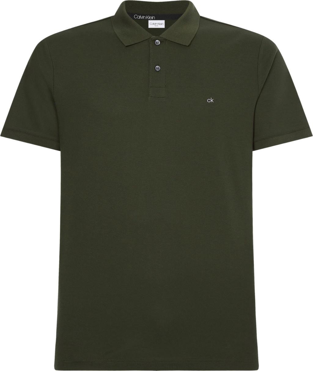 calvin klein -  Poloshirt REFINED PIQUE LOGO SLIM POLO