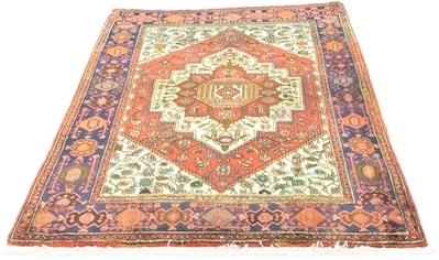 morgenland Wollteppich »Kolyai Teppich handgeknüpft orange«, rechteckig, 9 mm Höhe,... kaufen