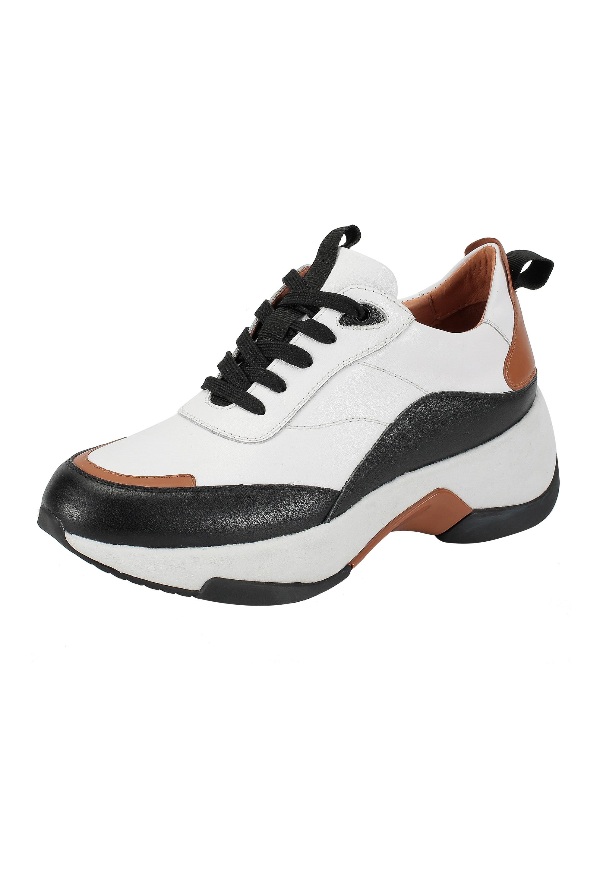ekonika -  Sneaker, hergestellt aus echtem Leder