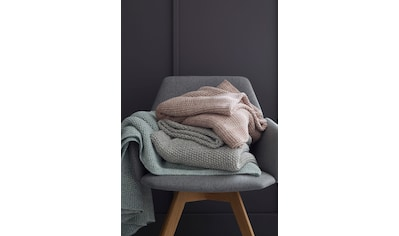 SCHÖNER WOHNEN-Kollektion Wohndecke »Melange«, Strickdecke mit Melange-Effekt kaufen