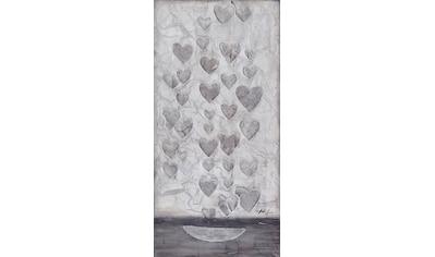 Bönninghoff Ölbild »Ölgemälde, handgefertigt ca.40x80 cm«, (1 St.) kaufen