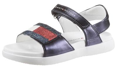 TOMMY HILFIGER Sandale, mit Klettverschlüssen kaufen