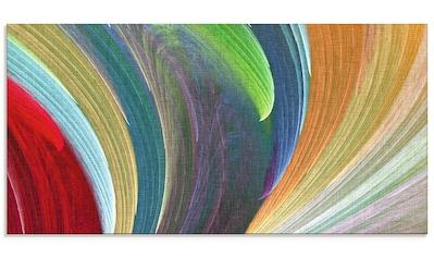 Artland Glasbild »Windwellen III«, Muster, (1 St.) kaufen
