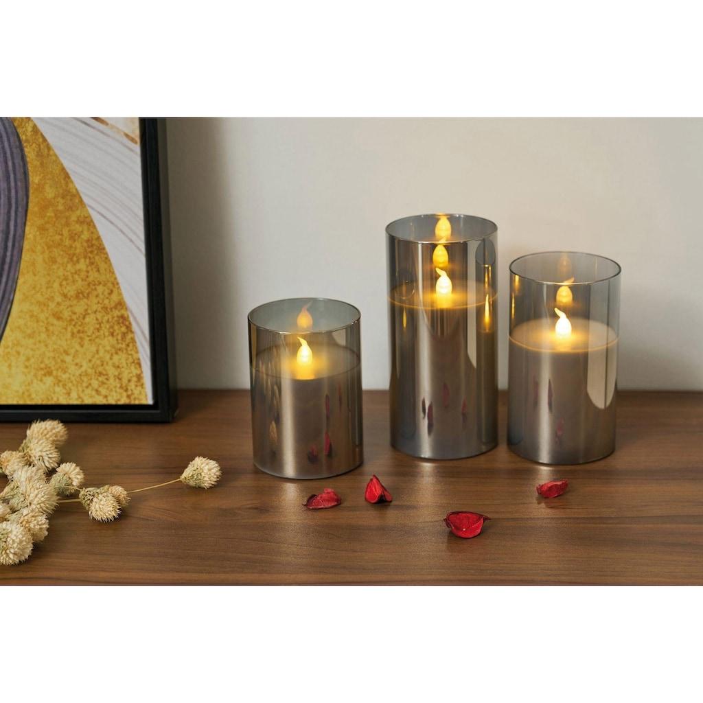Pauleen LED-Kerze »Classy Smokey Candle«, Wachskerze