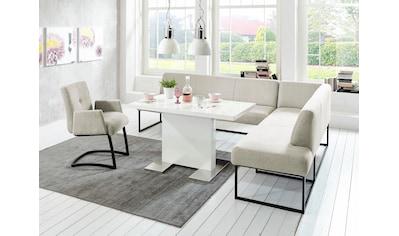 exxpo - sofa fashion Eckbank »Affogato«, Frei im Raum stellbar kaufen