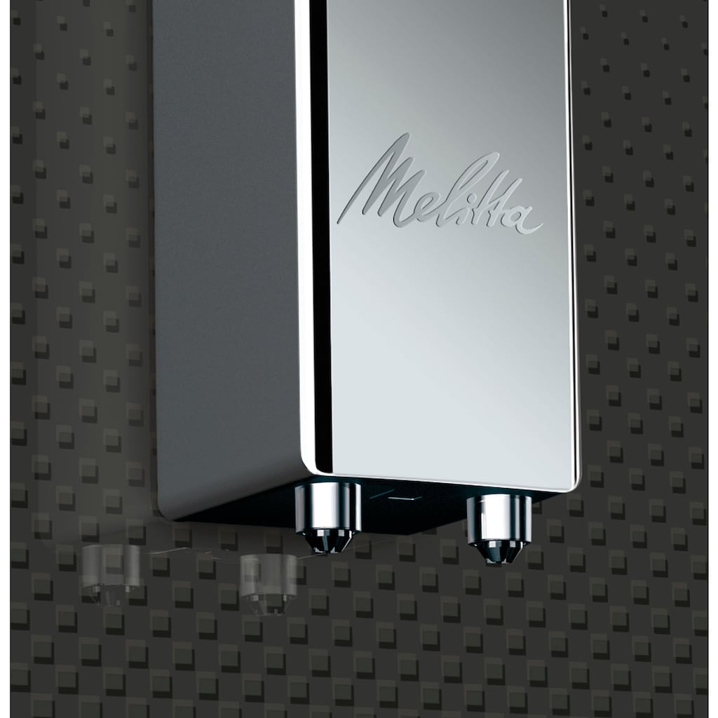 Melitta Kaffeevollautomat Solo Deluxe E 950-333, 1,2l Tank, Kegelmahlwerk