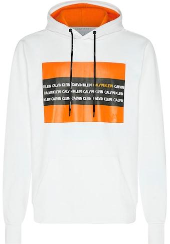 Calvin Klein Kapuzensweatshirt »CONTRAST TEXT BOX RELAX HOODIE« kaufen