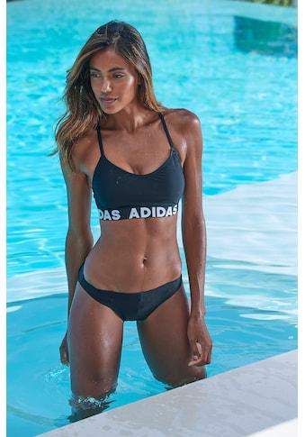 adidas Performance Bustier-Bikini, mit Markenschriftzügen kaufen