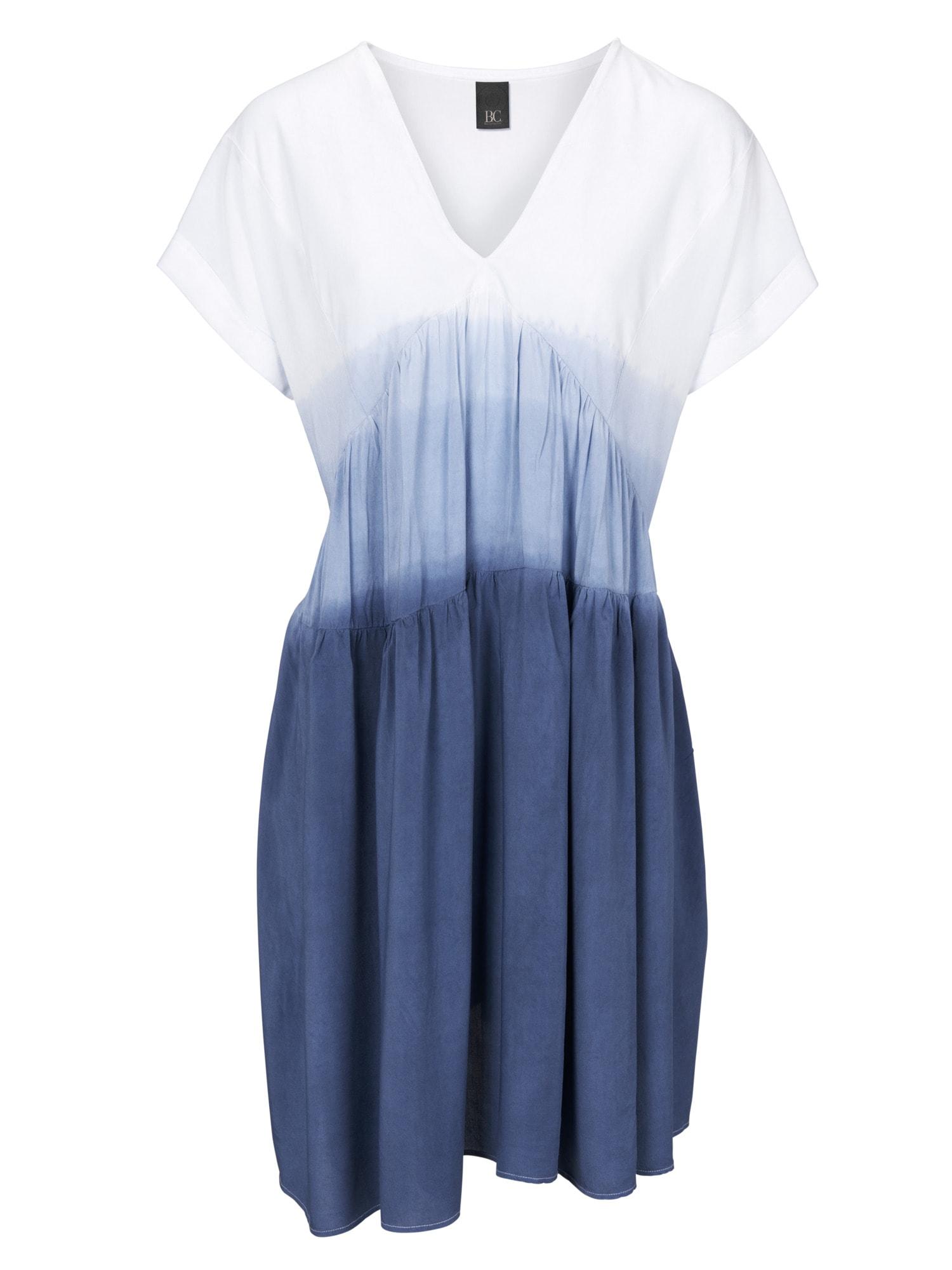 heine CASUAL Kleid mit V-Ausschnitt