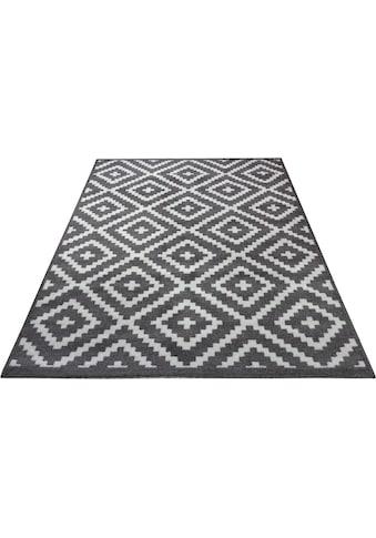 andas Frisé-Teppich »Molly«, rechteckig, 13 mm Höhe, Wohnzimmer kaufen