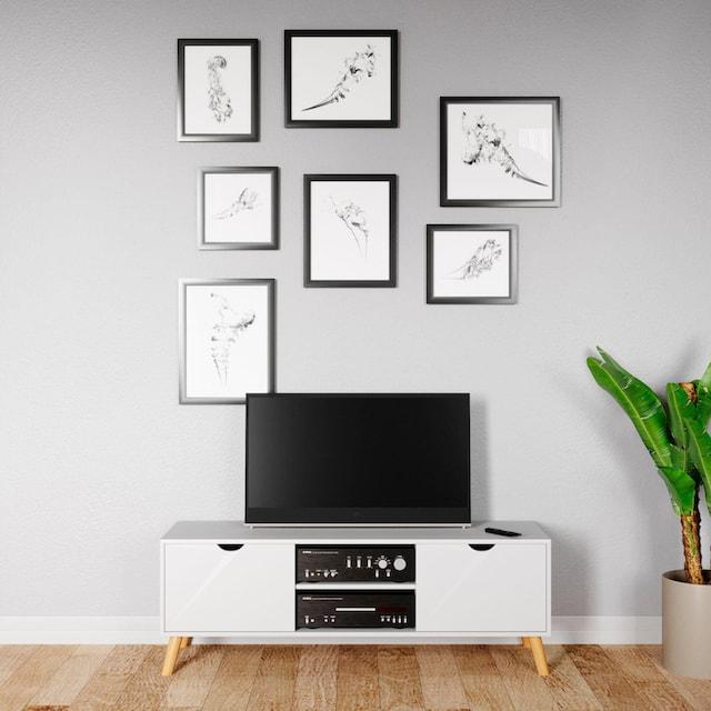 andas Sideboard »Scandi«, Fernsehtisch mit Soft-Close-Funktion