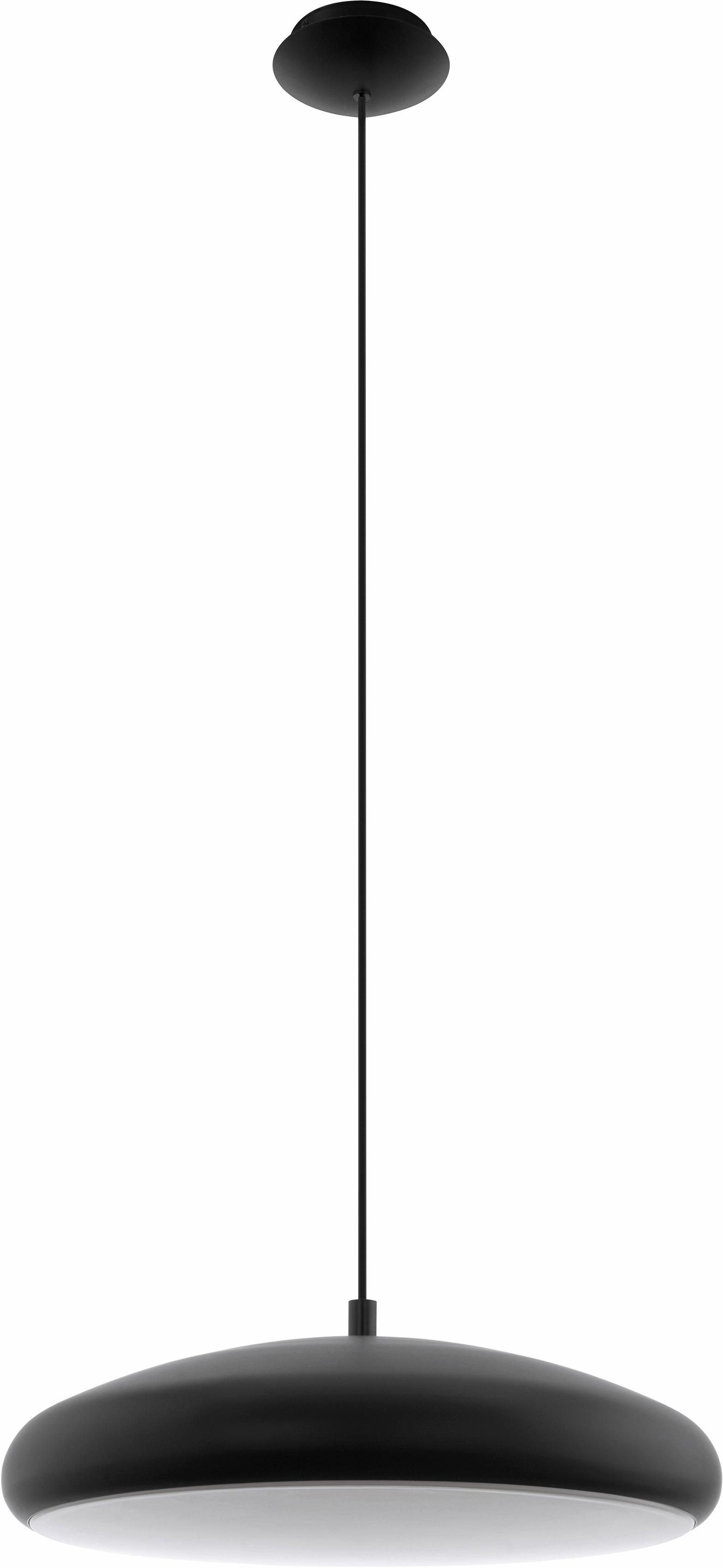 EGLO LED Pendelleuchte RIODEVA-C, LED-Board, Neutralweiß-Tageslichtweiß-Warmweiß-Kaltweiß, Hängeleuchte, EGLO CONNECT, Steuerung über APP + Fernbedienung, BLE, CCT, RGB, dimmbar, Farbwechsel