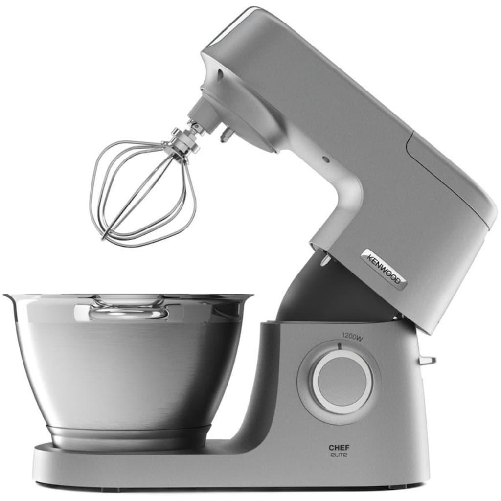 KENWOOD Küchenmaschine »Chef Elite KVC5401S«, 1200 W, 4,6 l Schüssel, 3tlg. Patisserie-Set Pro, inkl. Gratiszubehör im Gesamtwert von UVP € 339,97