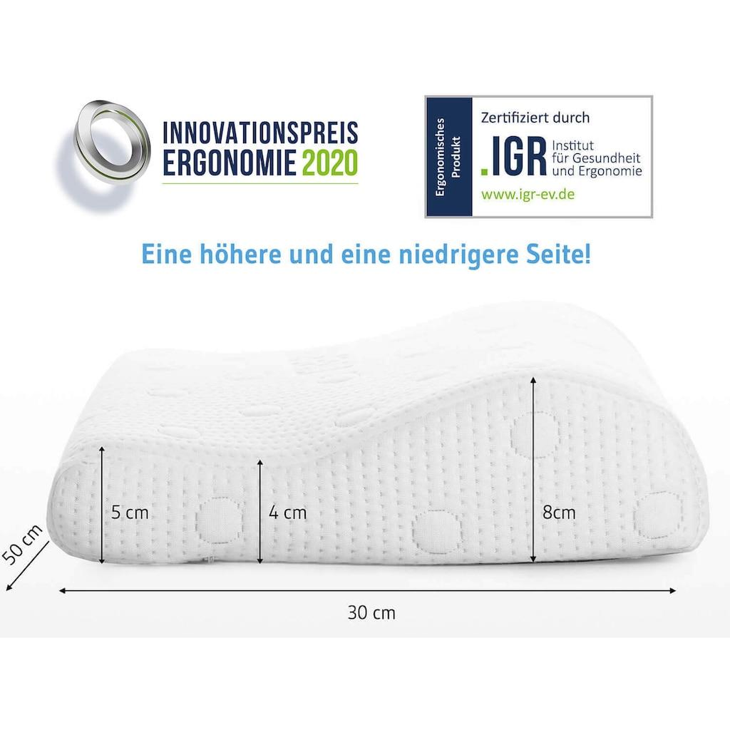 Third of Life Nackenstützkissen »NINAR«, (1 St.), Kinderkissen mit Klimabezug