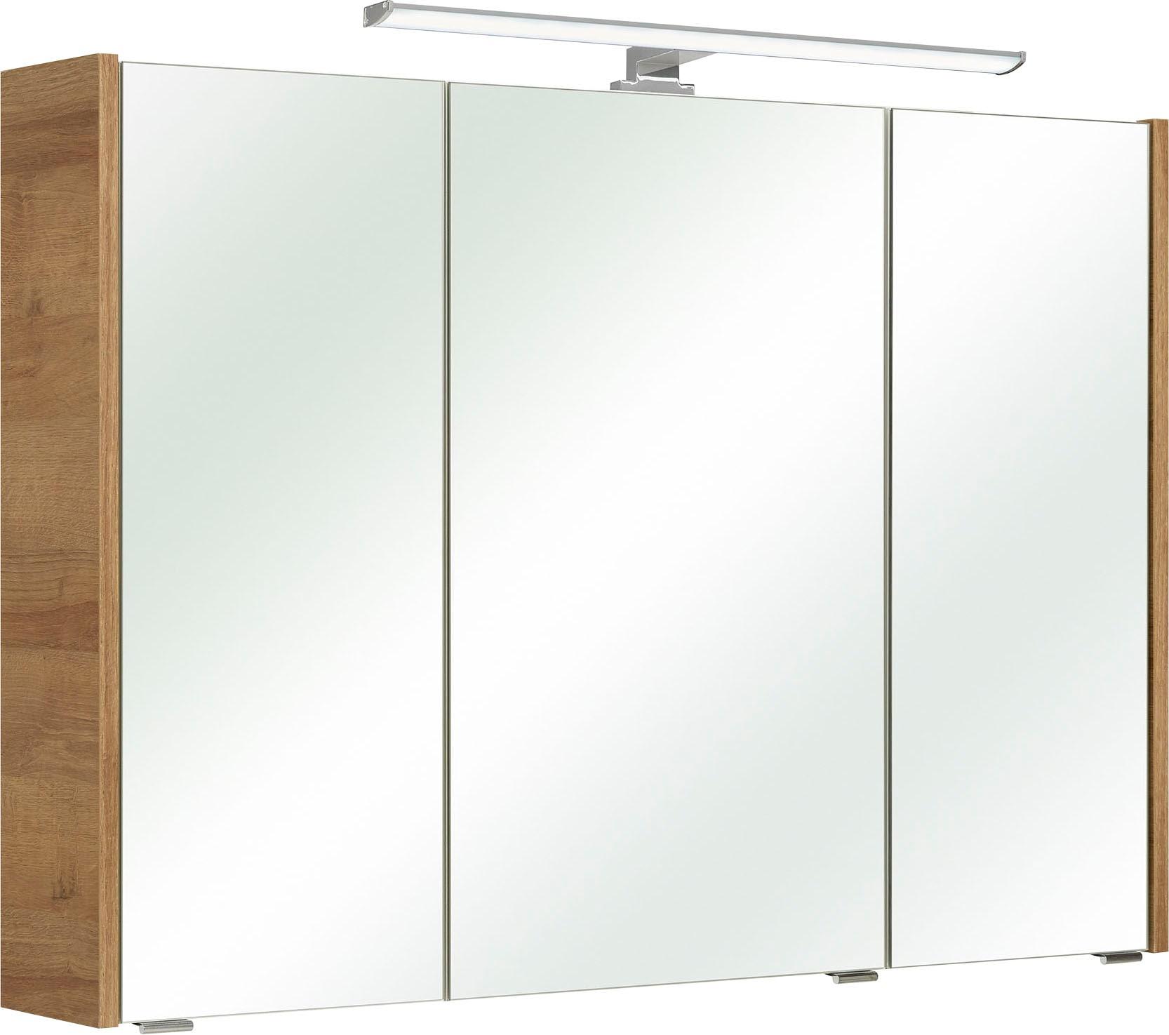 PELIPAL Spiegelschrank Rovato beige Bad-Spiegelschränke Badschränke Schränke