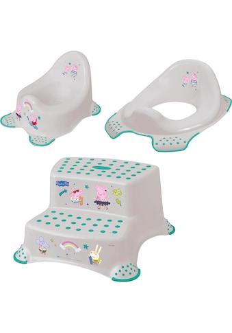 keeeper Töpfchen »Peppa Pig«, Kinderpflege-Set - Töpfchen, Toilettensitz und... kaufen