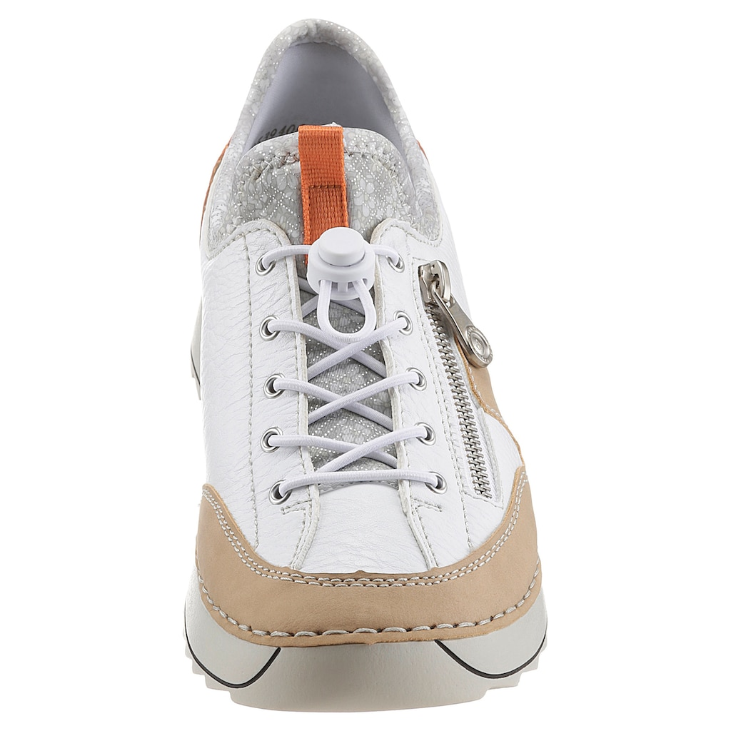 Rieker Slip-On Sneaker, mit praktischem Schnellverschluss