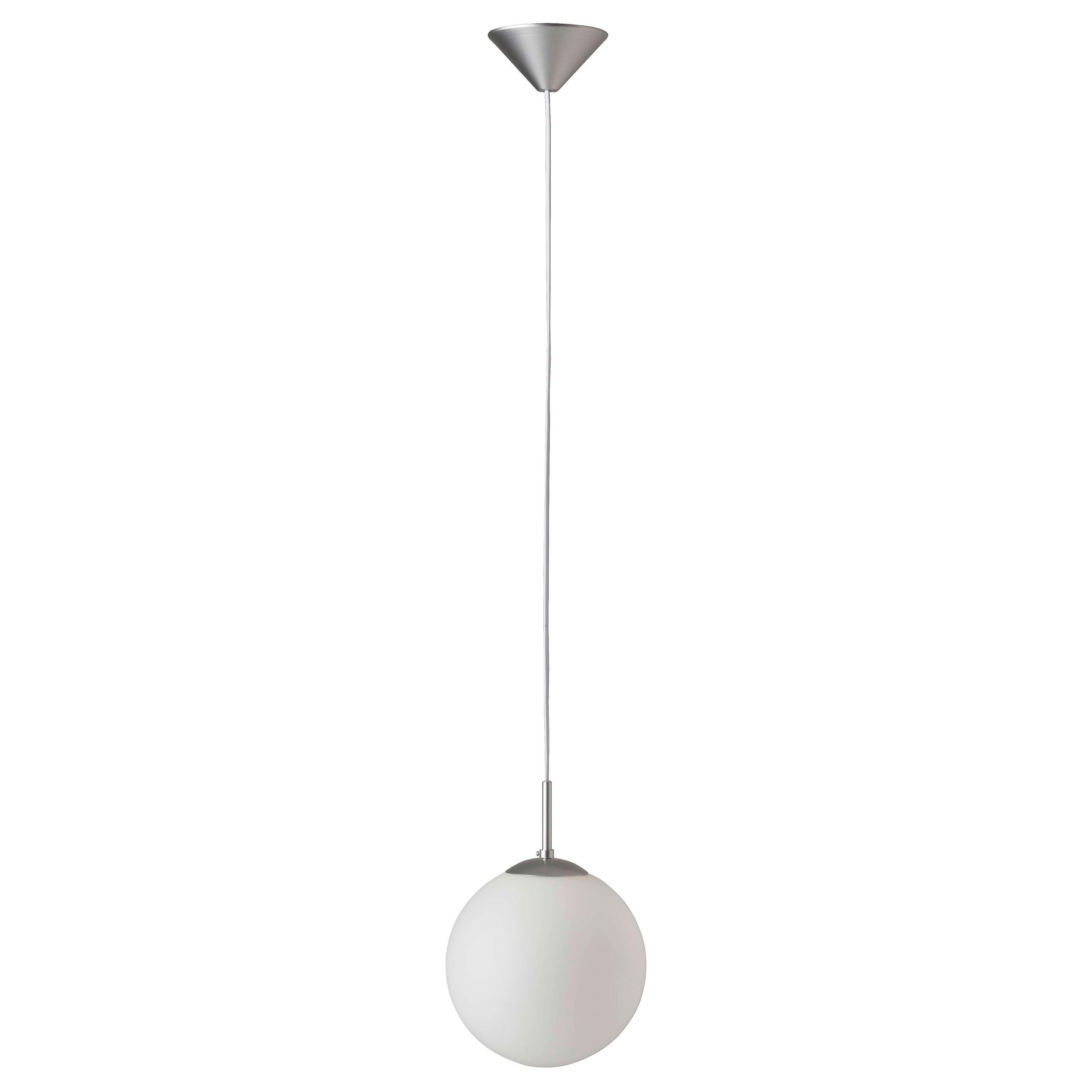 Brilliant Leuchten Fantasia Pendelleuchte 20cm silber/weiß