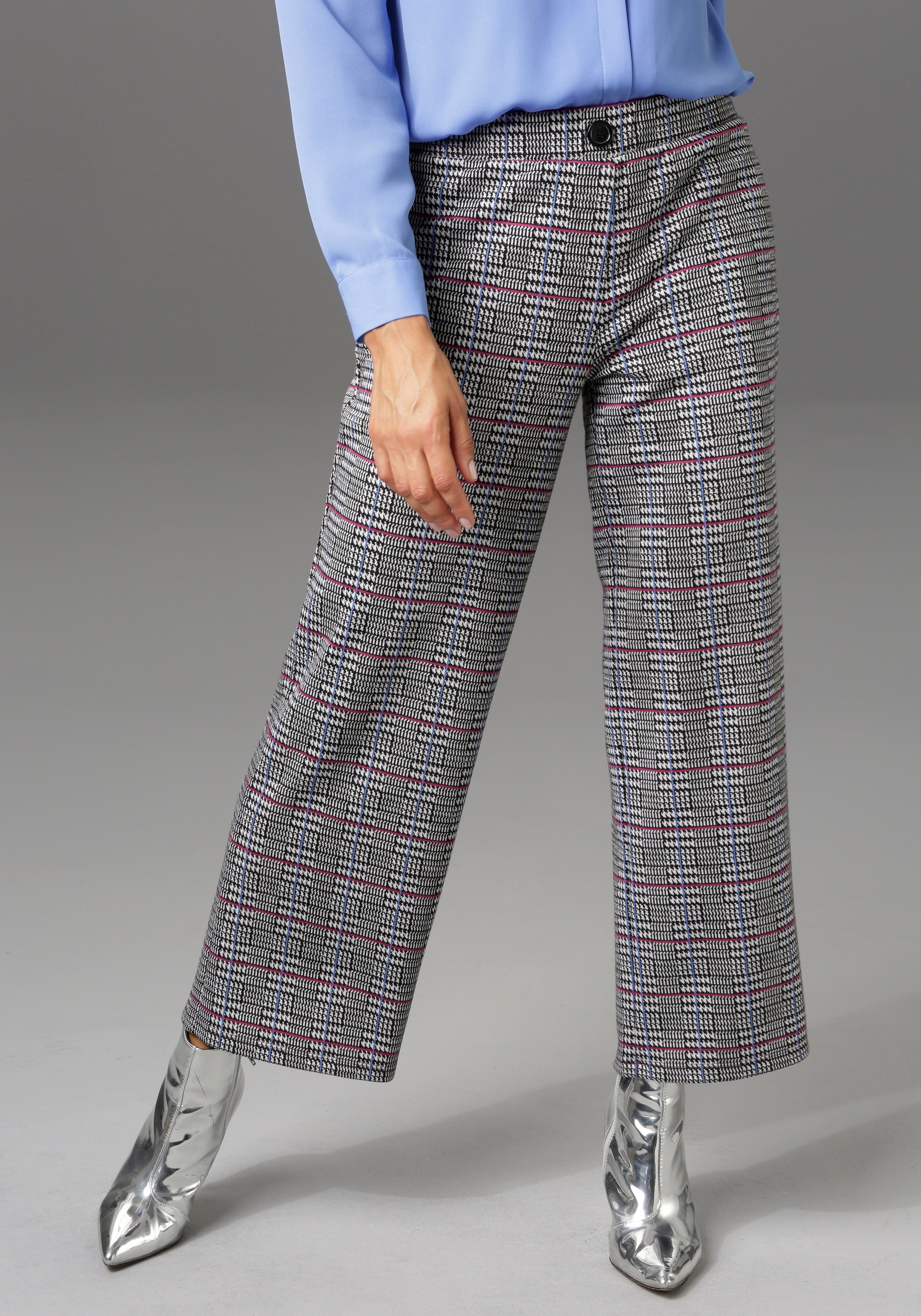 aniston casual -  Culotte, im trendigen Karo-Dessin - NEUE KOLLEKTION