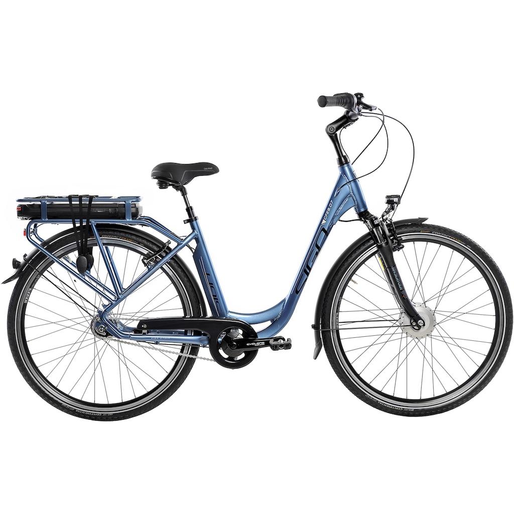 SIGN E-Bike, 7 Gang, Shimano, Shimano Nexus, Frontmotor 250 W