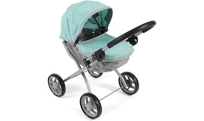 CHIC2000 Puppenwagen »Lilli, melange mint«, zusammenklappbar kaufen