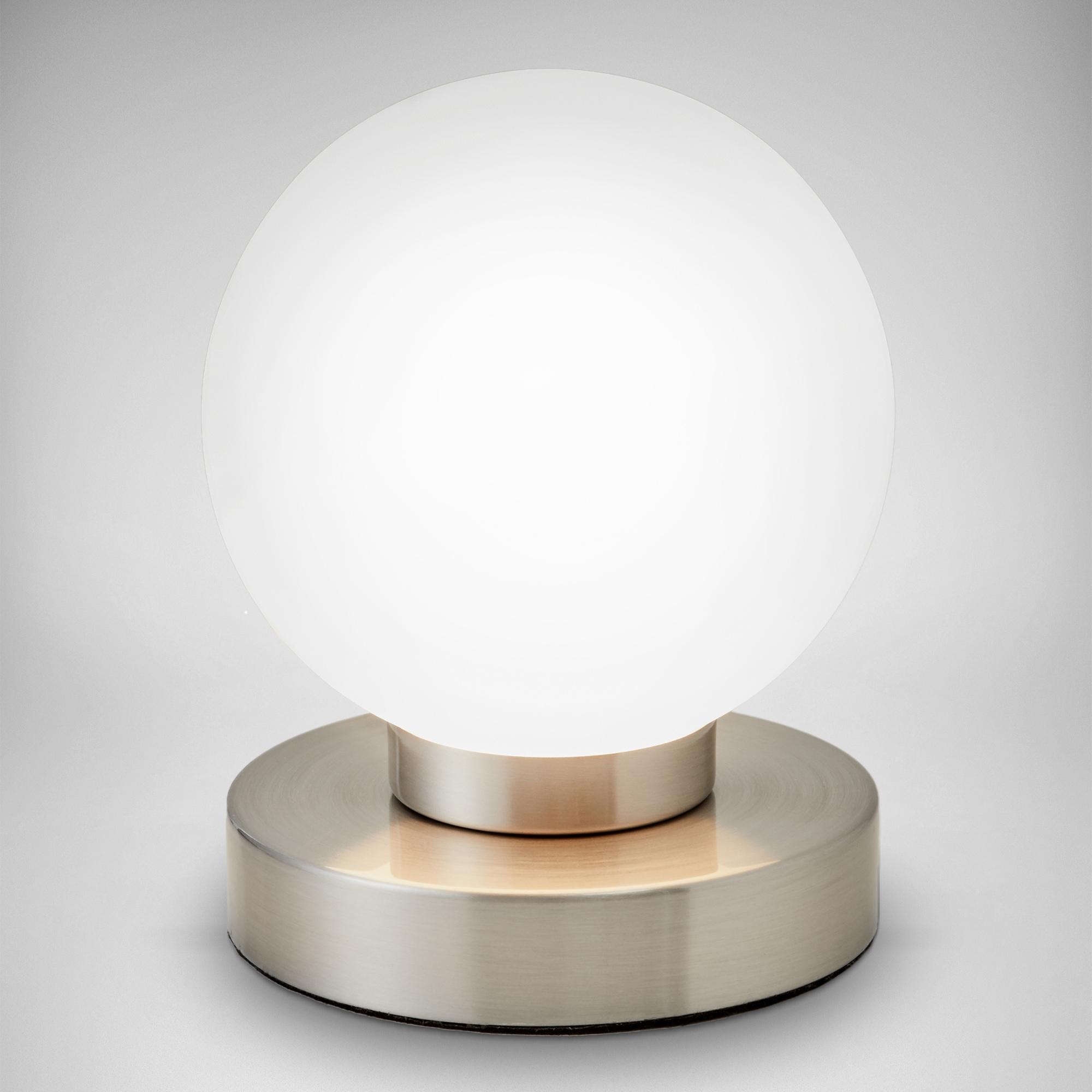 B.K.Licht Tischleuchte, E14, Farbwechsler, Touch Tisch-Lampe Nachttisch-Lampe Schreibtischlampe Wohnzimmerlampen E14