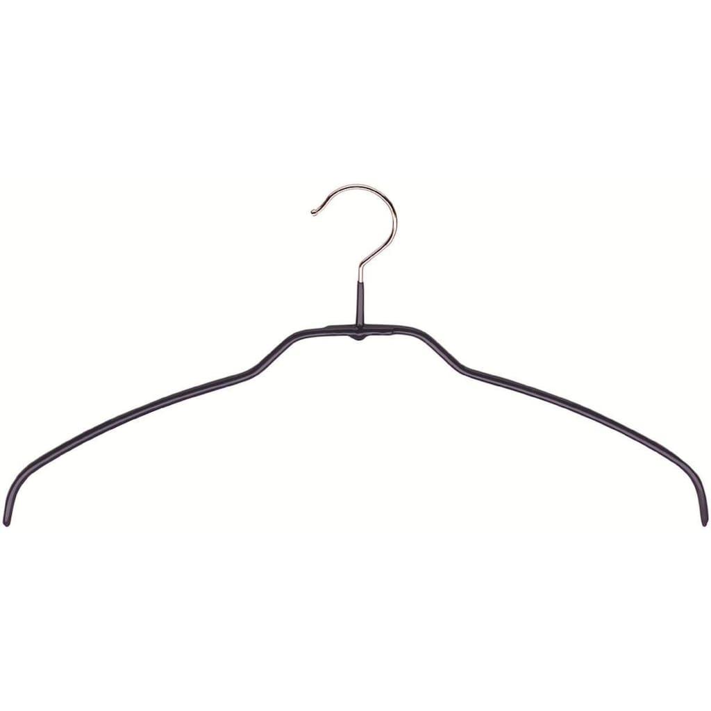 MAWA Kleiderbügel »Silhouette light 42/FT«, (Set, 10 tlg.), Trockenbügel, mit Edelstahl-Haken für den Außenbereich und Feuchträume