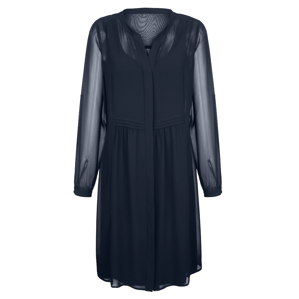 Alba Moda Kleid in Lagenoptik