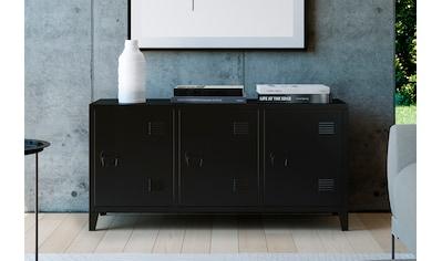 Homexperts Kommode »College«, Sideboard im Spind Design kaufen