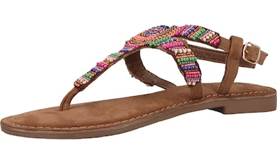 Lazamani Zehentrenner »Velourleder/Textil« kaufen