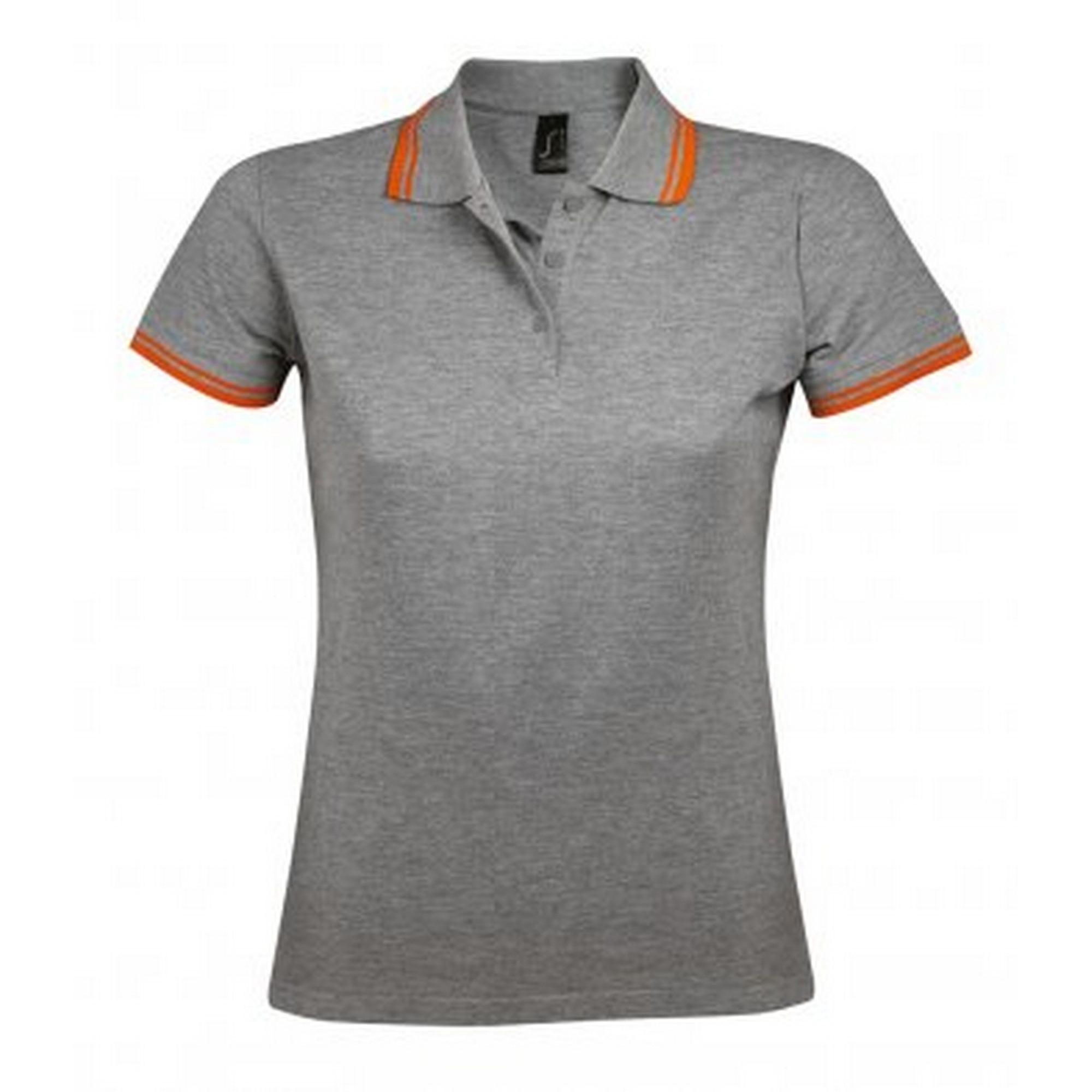 sols -  Poloshirt Damen Pasadena Pique Polo-Shirt kurzärmlig