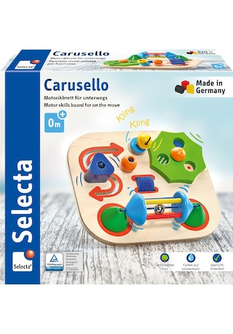 Selecta Motorikbrett »Carusello, Motorikbrett für unterwegs, 19 cm«, Made in Germany kaufen