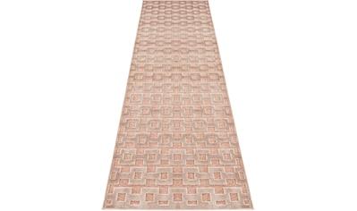 MINT RUGS Läufer »Bouton«, rechteckig, 4 mm Höhe, Hoch-Tief-Effekt kaufen