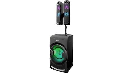 Sony »Sony MHC - GT4D« Party - Lautsprecher (Bluetooth, NFC) kaufen