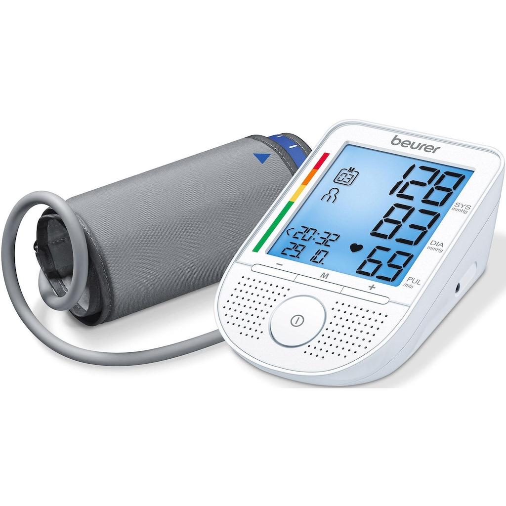 BEURER Oberarm-Blutdruckmessgerät »BM 49«, mit Sprachfunktion