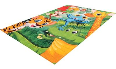 Obsession Kinderteppich »My Juno 471«, rechteckig, 10 mm Höhe, Spielteppich, Tier... kaufen